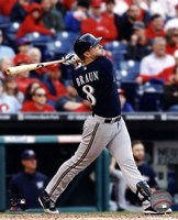 Ryan Braun 2014 Action Fine Art Print