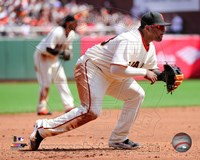 Pablo Sandoval In Catching Field Fine Art Print