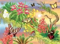 Butterflies Out On A Limb Fine Art Print