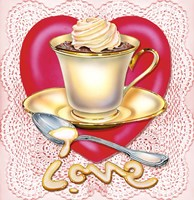 Latte Love by Rosiland Solomon - various sizes