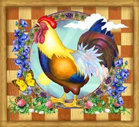 Morning Glory Rooster III by Rosiland Solomon - various sizes