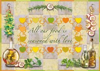 Seasoned With Love Fine Art Print