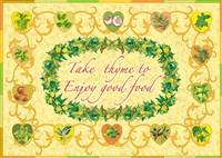 Take The Thyme Fine Art Print