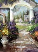 The Courtyard Fine Art Print