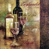 Zinfandel Lettered Fine Art Print