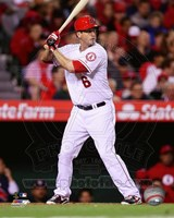 David Freese 2014 batting Fine Art Print
