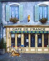 Cafe De France Fine Art Print