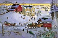 Christmas Time Fine Art Print