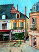 Flower Shop Fine Art Print