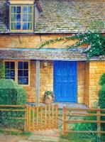 The Blue Door Fine Art Print