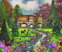 Fawn Haven by Caplyn Dor - various sizes - $36.49