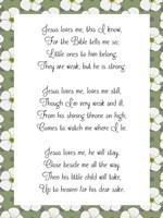 Jesus Loves Me by Veruca Salt - various sizes
