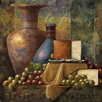 Cheese & Grapes Fine Art Print