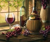 Wine By The Window I Fine Art Print