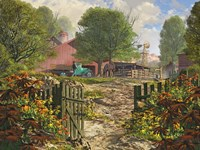 Back At The Ranch by Larry Jacobsen - various sizes, FulcrumGallery.com brand