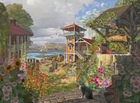 Fishing Village Fine Art Print
