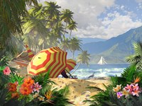 Island Getaway Fine Art Print