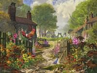 The Little Village Fine Art Print