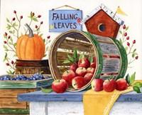 Apples Grapes & Pumpkins by Maureen Mccarthy - various sizes