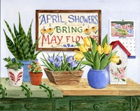 April Showers by Maureen Mccarthy - various sizes