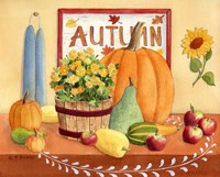 Autumn Table by Maureen Mccarthy - various sizes