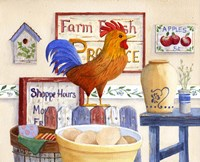 Country Rooster by Maureen Mccarthy - various sizes