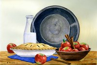 Gram's Apple Pie Fine Art Print