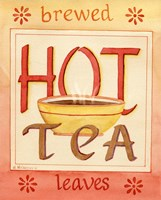 Hot Tea Fine Art Print