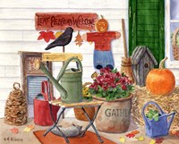Leaf Peepers Welcome by Maureen Mccarthy - various sizes - $24.99