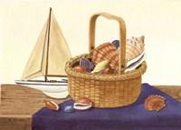 Nantucket Basket & Shells by Maureen Mccarthy - various sizes