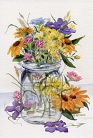 Wildflower Jar Fine Art Print
