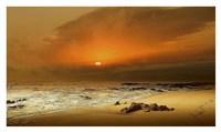 """The Beach by Adelino Gonçalves - 37"""" x 22"""", FulcrumGallery.com brand"""