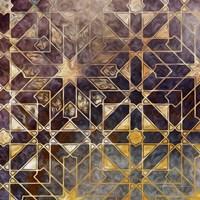 Mystic Tiles I Framed Print