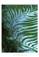 "Emerald Feathering I by Danielle Harrington - 13"" x 19"", FulcrumGallery.com brand"