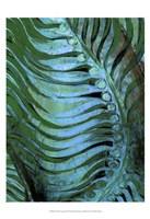 "Emerald Feathering II by Danielle Harrington - 13"" x 19"", FulcrumGallery.com brand"
