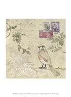 Bird & Postage II Fine Art Print