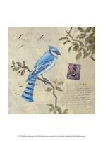 Bird & Postage III Fine Art Print