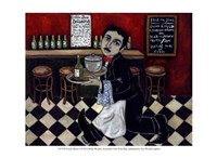 French Waiter I Fine Art Print