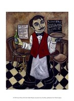 French Waiter III Fine Art Print