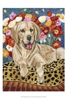 "Golden Boy Retriever by Carolee Vitaletti - 13"" x 19"""