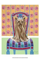 Crown Princess Yorkie Fine Art Print
