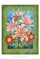 "Bouquet in Border II by Carolee Vitaletti - 13"" x 19"""
