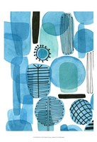 "Mod Orbit I by Deborah Velasquez - 13"" x 19"""