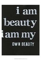 Be Beautiful II Fine Art Print