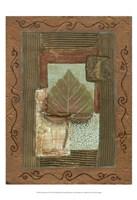 Leaf Quartet III Fine Art Print