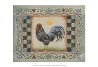 Proud Rooster II Fine Art Print
