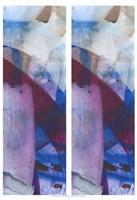 "2-Up Magenta Gesture II by Jodi Fuchs - 13"" x 19"""