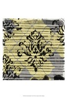 "Deconstructed Damask I by Jennifer Goldberger - 13"" x 19"", FulcrumGallery.com brand"
