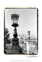 "Chain Bridge over the Danube River by Laura Denardo - 13"" x 19"""