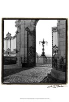 Gates to the Royal Palace Budapest
